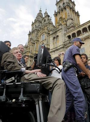 Stephen Hawking presenta en Santiago de Compostela su nuevo libro