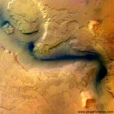 ¿A dónde fue a parar el agua de Marte?