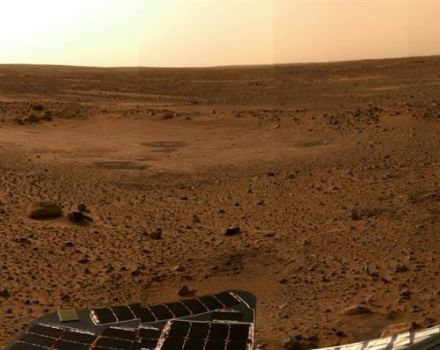 Identifican en Marte indicios de la posible existencia de vida