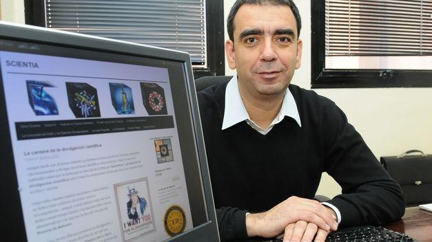 D. José Manuel López Nicolás, bioquímico e investigador, visitó nuestro centro